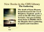 new books in the chs library52