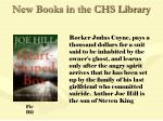 new books in the chs library54