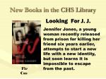 new books in the chs library61