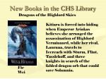 new books in the chs library68
