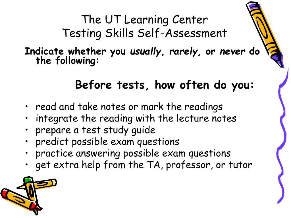 The UT Learning Center