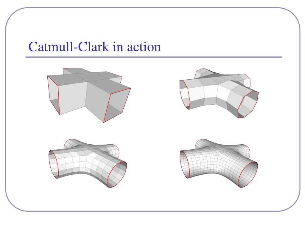 Catmull-Clark in action