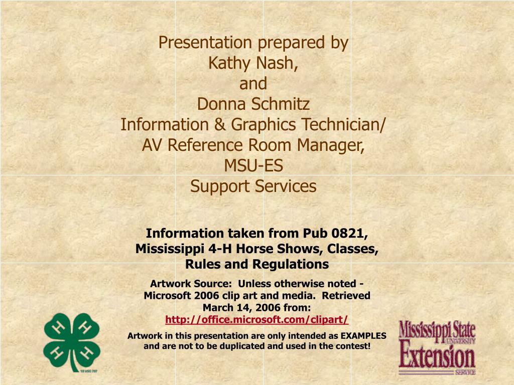 Presentation prepared by