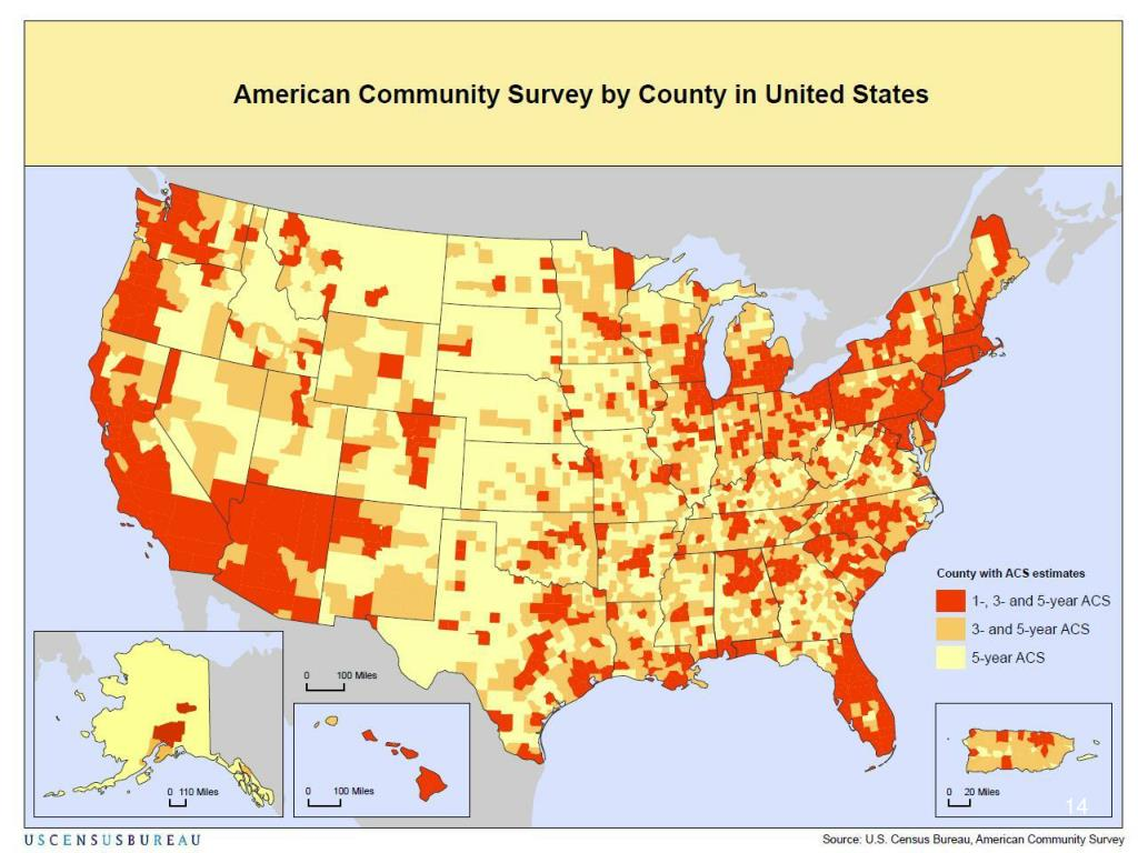 Map of ACS Publication Areas