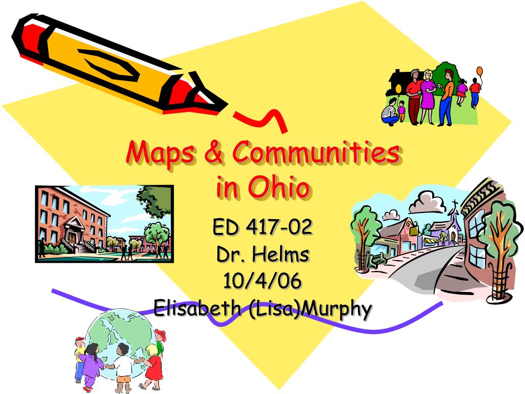maps communities in ohio l.
