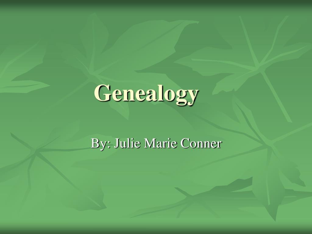 genealogy l.