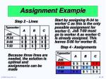 assignment example33