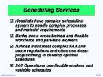 scheduling services66