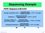 sequencing example38