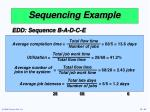 sequencing example42