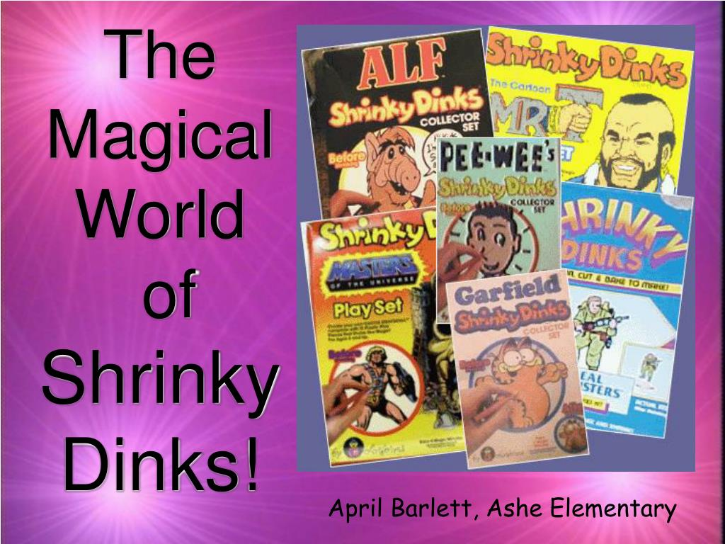 the magical world of shrinky dinks l.