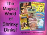 the magical world of shrinky dinks
