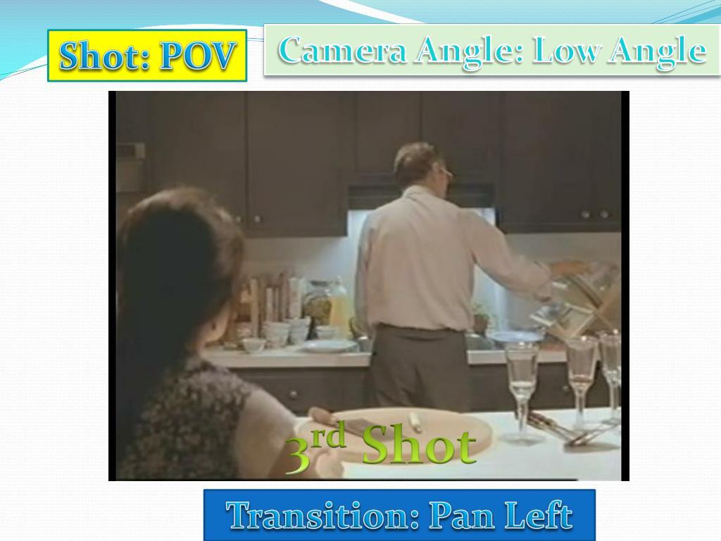 Camera Angle: Low Angle