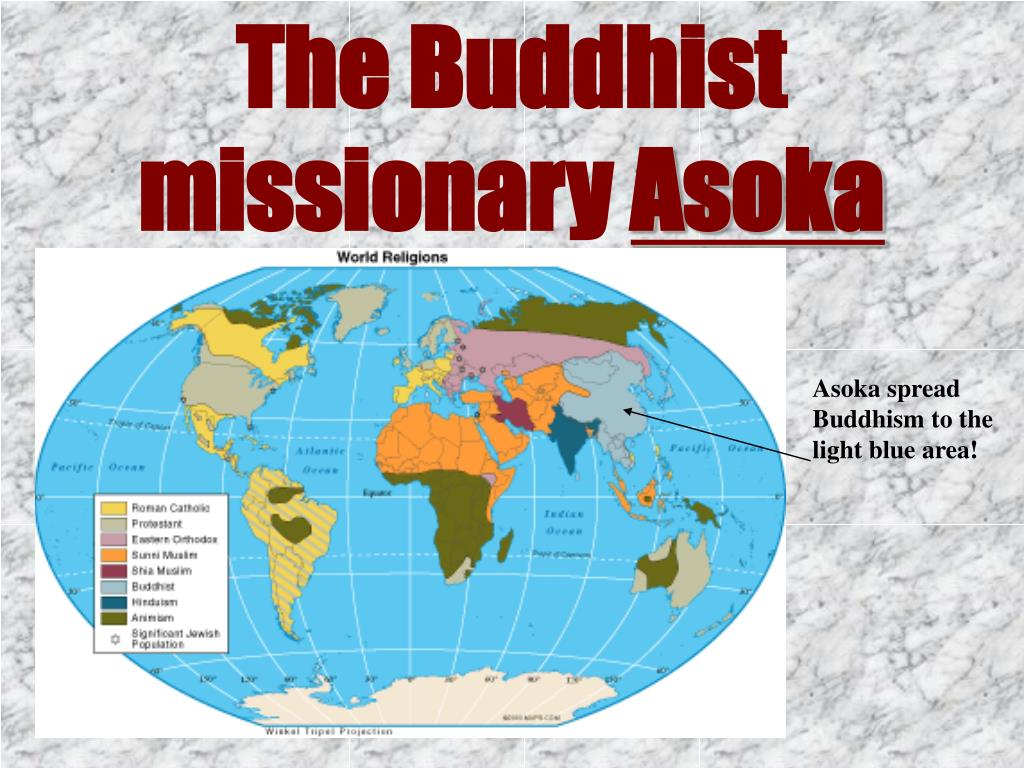 The Buddhist missionary