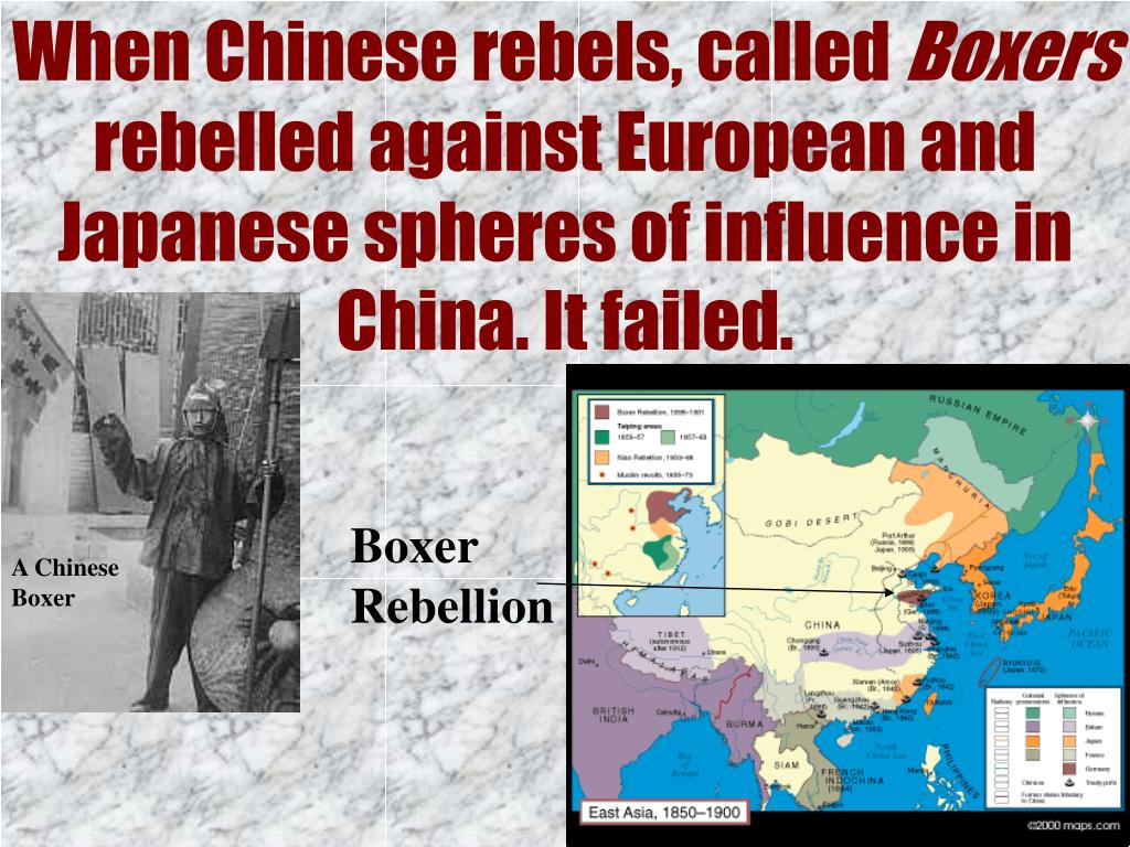 When Chinese rebels, called