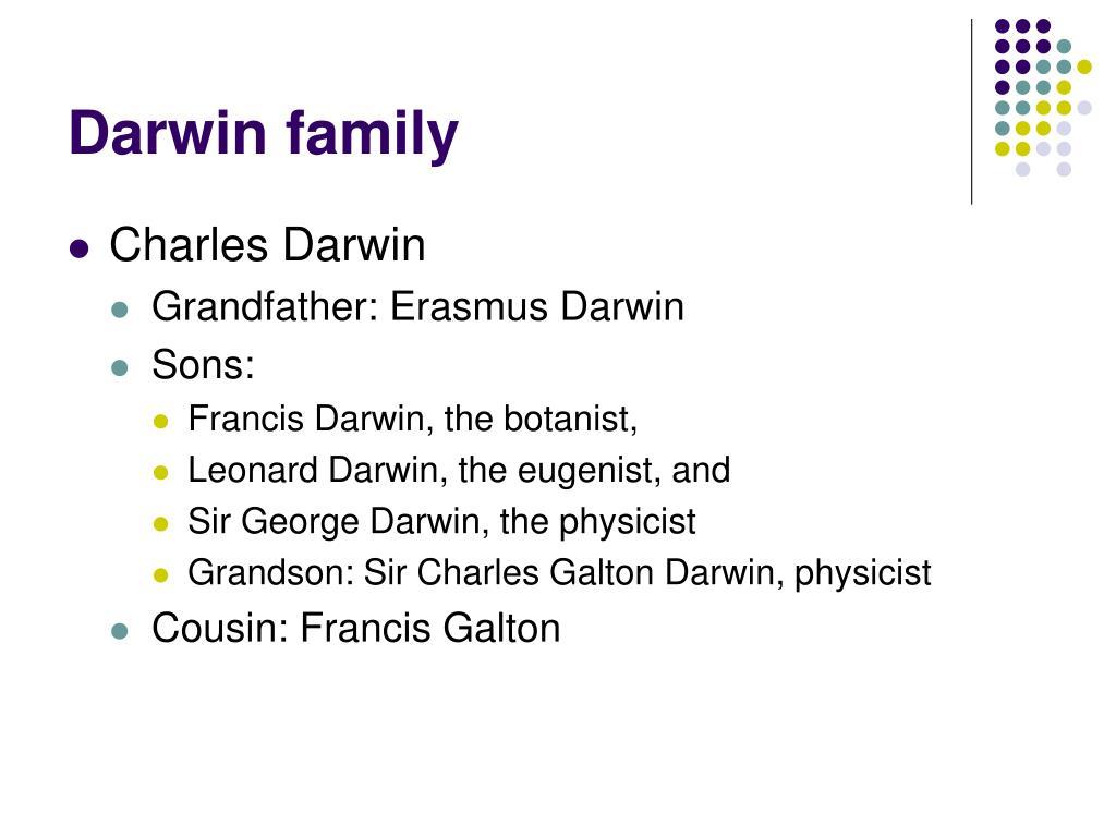 Darwin family