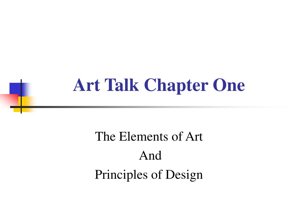 art talk chapter one l.