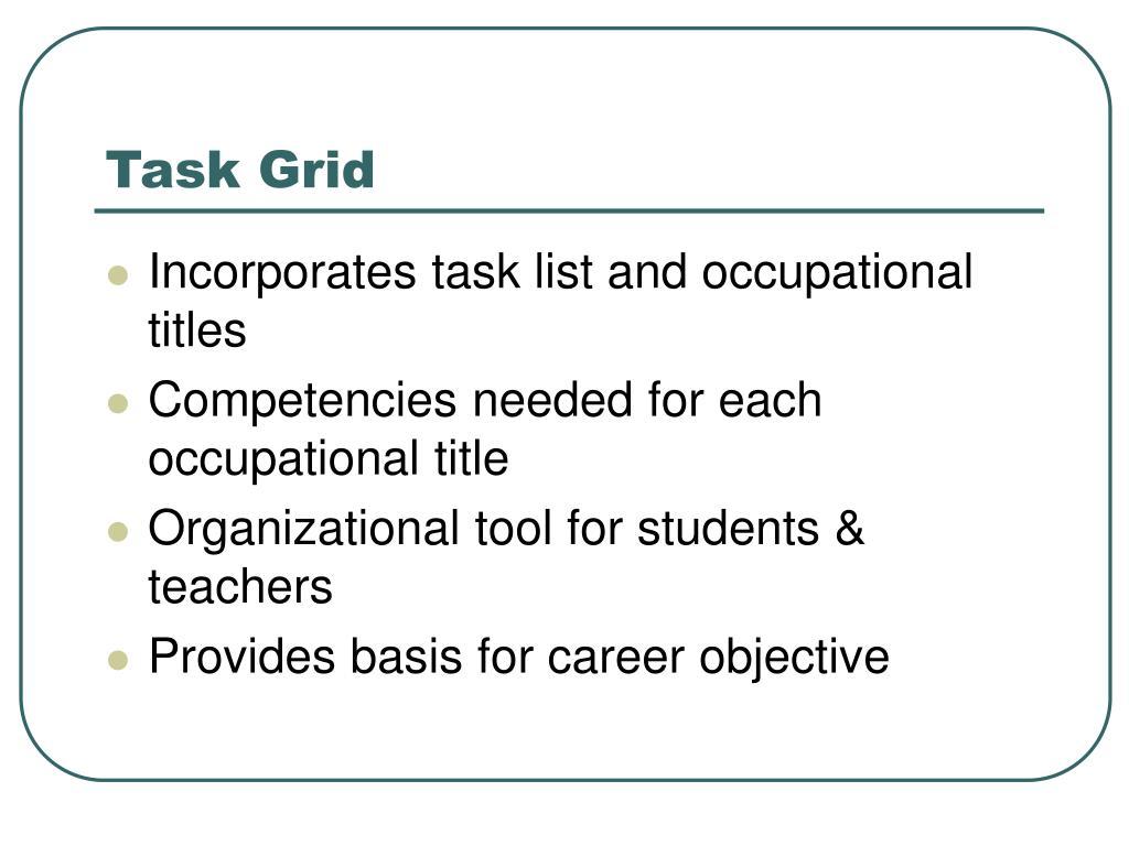 Task Grid