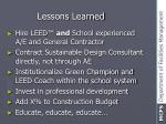 lessons learned38