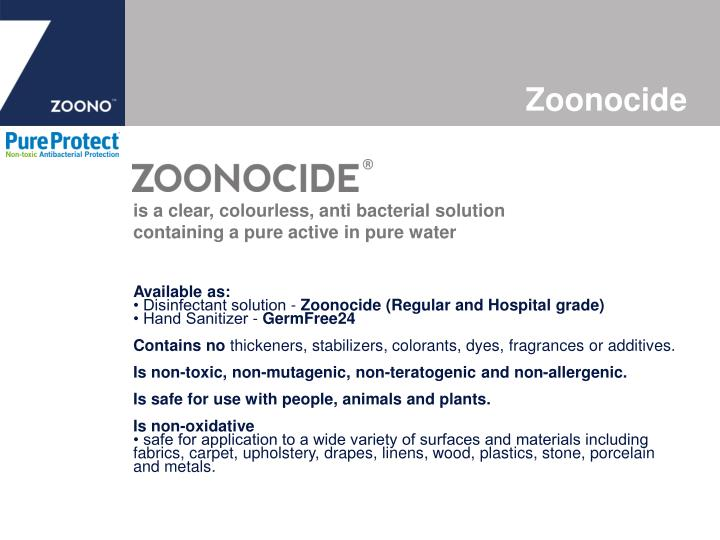 Zoonocide