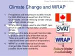 climate change and wrap