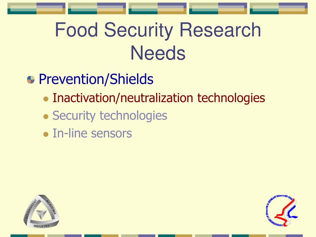 Food Security Research Needs