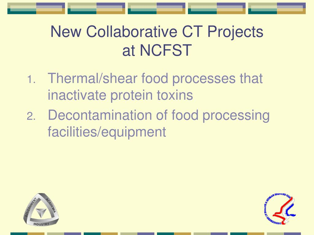 New Collaborative CT Projects