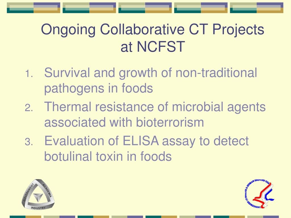 Ongoing Collaborative CT Projects at NCFST