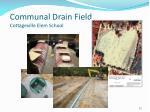 communal drain field cottageville elem school