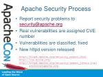 apache security process