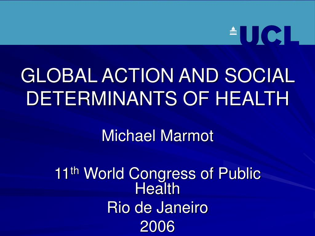 global action and social determinants of health l.