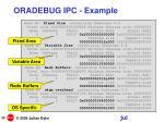 oradebug ipc example