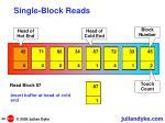single block reads