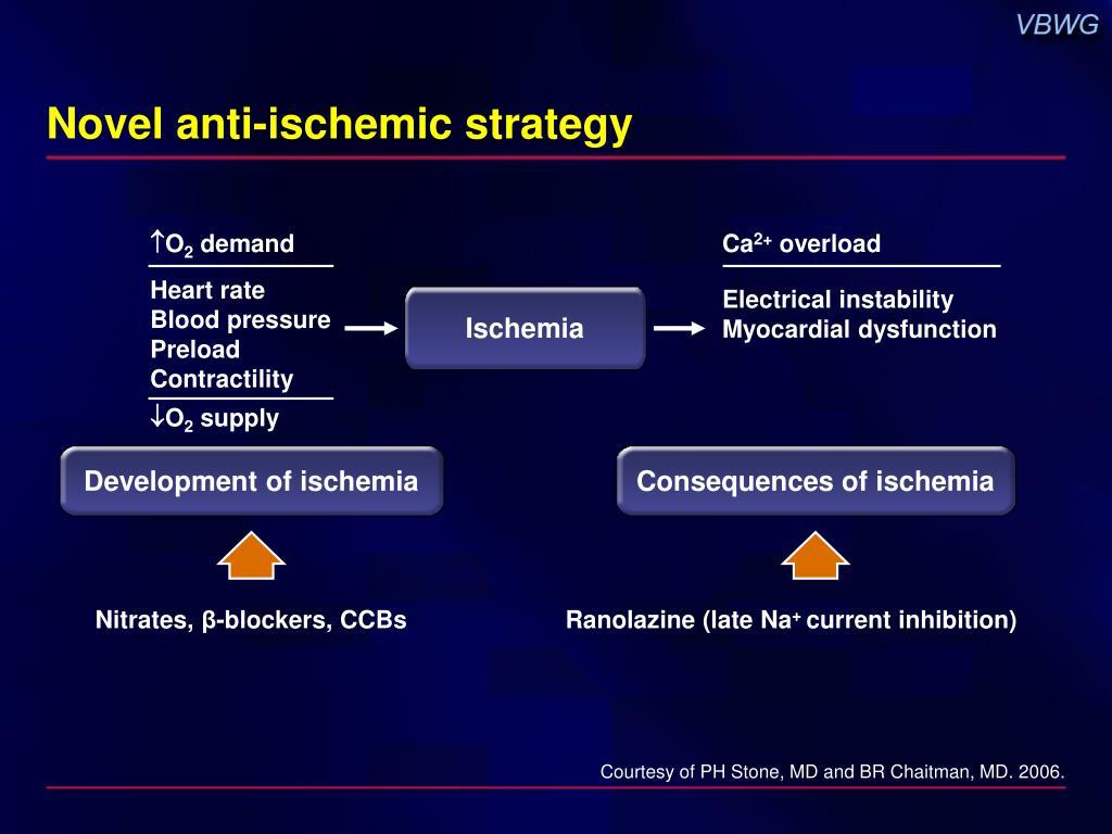 Novel anti-ischemic strategy