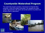 countywide watershed program