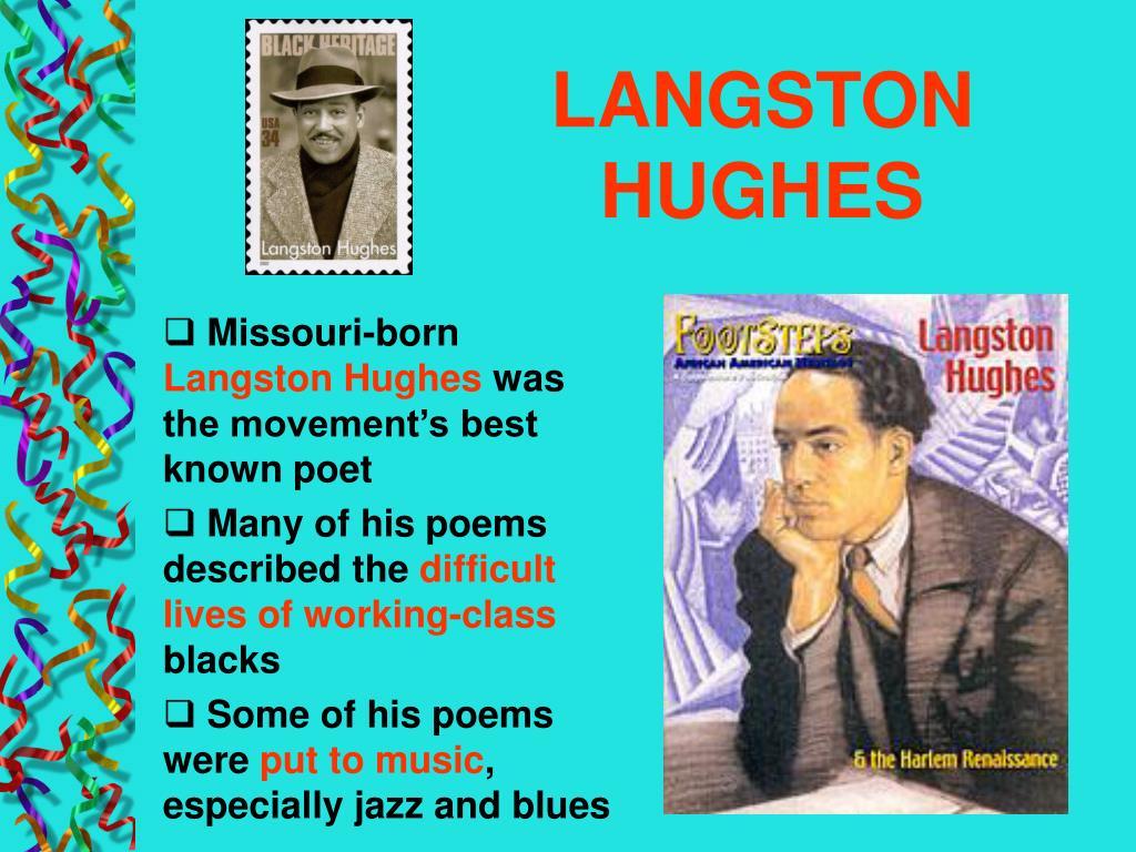 langston hughes poet to patron