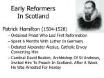 early reformers in scotland