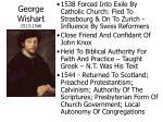 george wishart 1513 1546