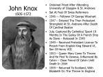 john knox 1505 1572