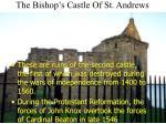 the bishop s castle of st andrews7