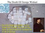 the death of george wishart23