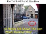 the death of patrick hamilton15