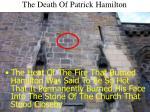 the death of patrick hamilton18
