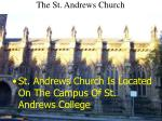 the st andrews church