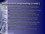 requirements engineering contd