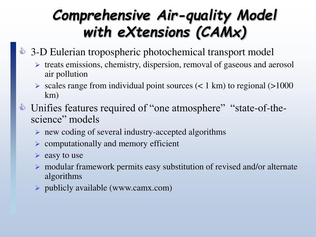 Comprehensive Air-quality Model