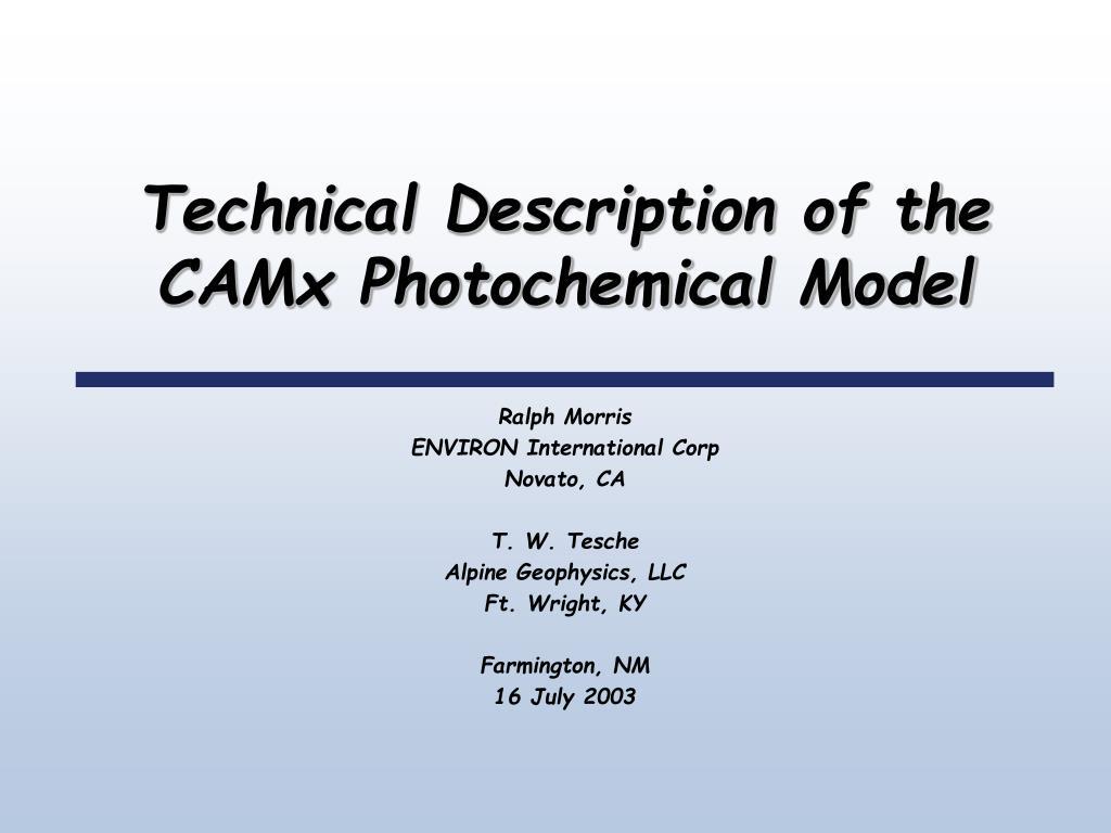 Technical Description of the
