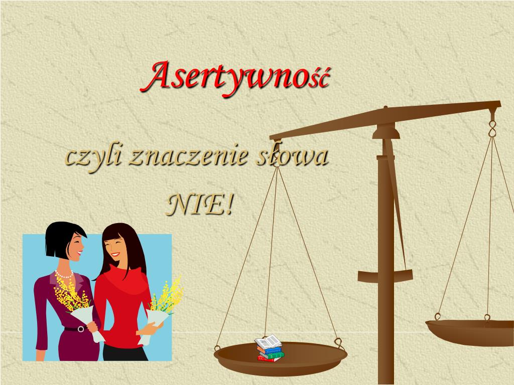 asertywno