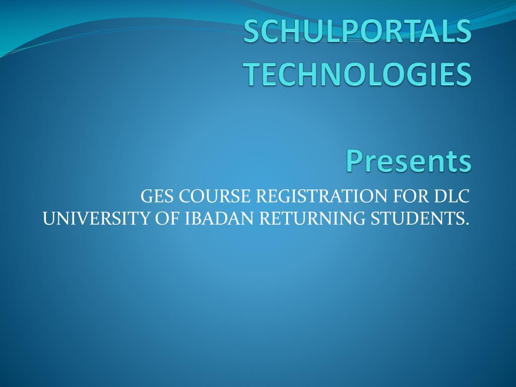 SCHULPORTALS TECHNOLOGIES