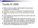 trends iv 2005